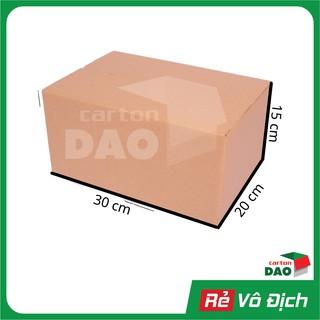 [QUAC50KS 🔥 Giảm ngay 50K] Hộp carton 30x20x15 cm đóng gói hàng vận chuyển COD