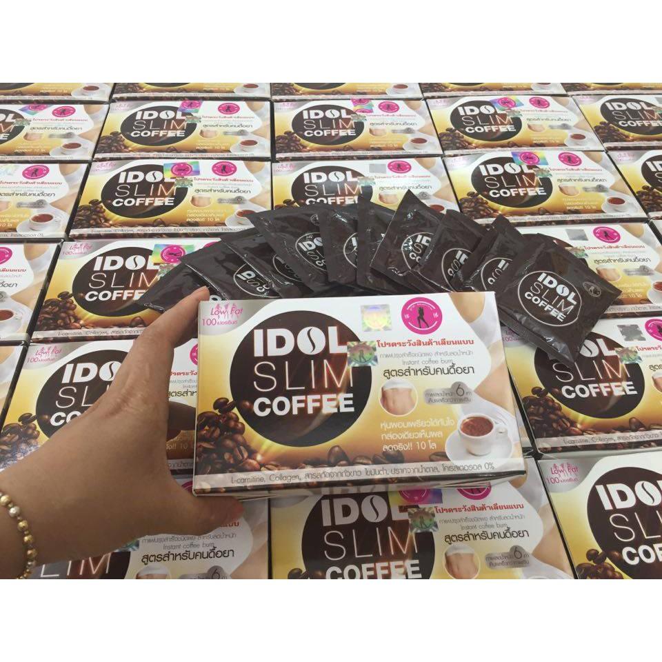 Combo 10 hộp Cafe giảm cân Idol (chính hãng Thái Lan) - 3362551 , 749576507 , 322_749576507 , 3500000 , Combo-10-hop-Cafe-giam-can-Idol-chinh-hang-Thai-Lan-322_749576507 , shopee.vn , Combo 10 hộp Cafe giảm cân Idol (chính hãng Thái Lan)