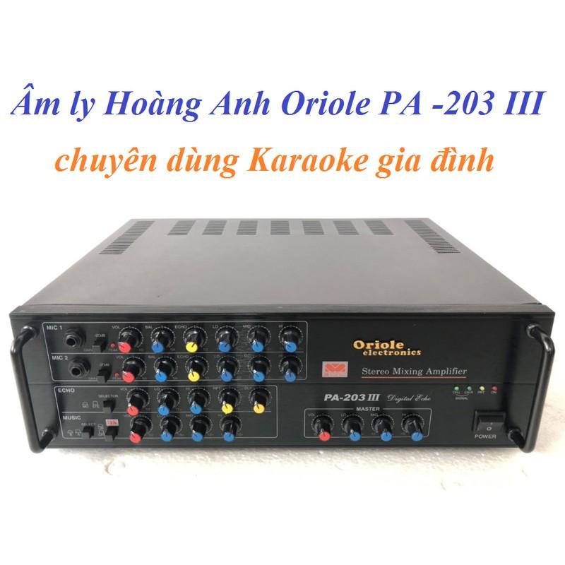 Âm ly Hoàng Anh Oriole PA-203III