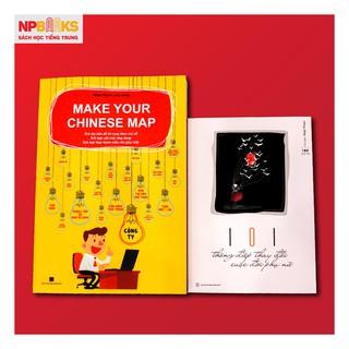 [Mã LIFE0404 giảm 10% đơn 100K] Combo Sách Make your Chinese map + 101 thông điệp gửi người phụ nữ thumbnail
