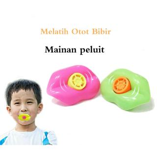 [ready stock] Kids Baby Educational Toys Lip Whistle Strength Training Lip Pronunciation Toys