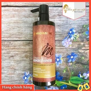 [CHÍNH HÃNG 100%] Dầu xả phục hồi siêu mượt tóc Masaroni Collagen Repair Conditioner 500ml thumbnail