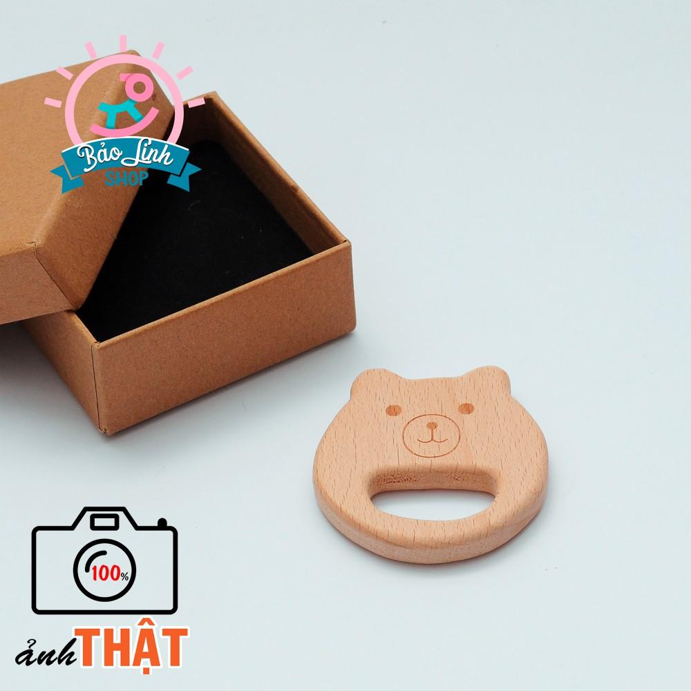 Mặt thú gặm nướu, cầm nắm cho bé BẢN ĐẸP| Đồ chơi cho trẻ sơ sinh (Mẫu 02)