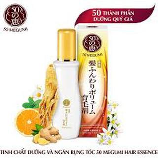 Tinh chất dưỡng và ngăn rụng tóc 50 Megumi Hair Essence 120ml
