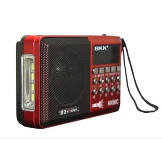 Loa Nghe Nhạc USB, Thẻ Nhớ, đài FM, Nghe Pháp BKK KK50C Có Đèn Pin thumbnail