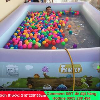 Bể bơi Summer Baby KT 315*250*55CM (tặng kèm bơm điện)