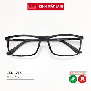 Gọng kính cận nam nữ nhựa dẻo basic không kén mặt Lani 915 - Lắp Mắt Cận Theo Yêu Cầu thumbnail