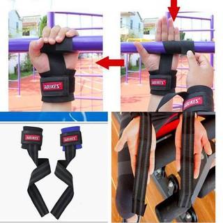 Dây kéo Lưng Lifting Straps hỗ trợ tập thể hình, Dây kéo lưng tập Gym AOLIKES (1 Đôi) DKL-22 thumbnail