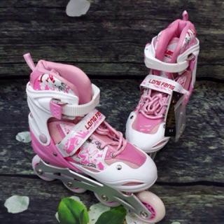 Giày Trượt Patin Longfeng 906 Hồng