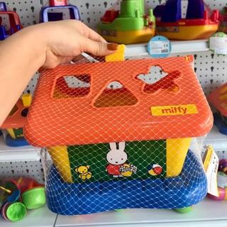Đồ chơi nhận biết các loại hình, thả hình thỏ Mify nhập khẩu