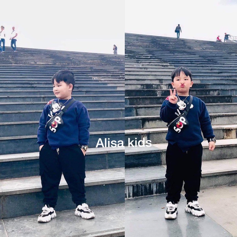 Quần nỉ túi kid - ALISA