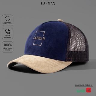 Mũ lưỡi trai CAPMAN chính hãng full box, nón kết nam trucker CM05 freesize thumbnail