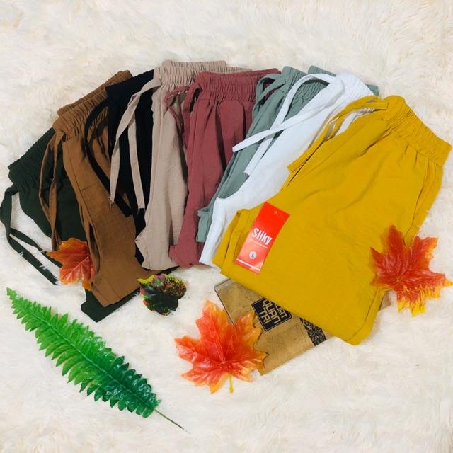 [Mã FAMAYWA giảm 10K đơn 50K] [Bigsize M-3XL Quần baggy nữ size lớn vải cực đẹp mát mềm- chất đũi | BigBuy360