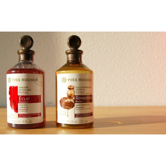 Giấm xả tóc Yves Rocher Rinsing Vinegar ( bill mua hàng chính hãng up ảnh kế) 150ml