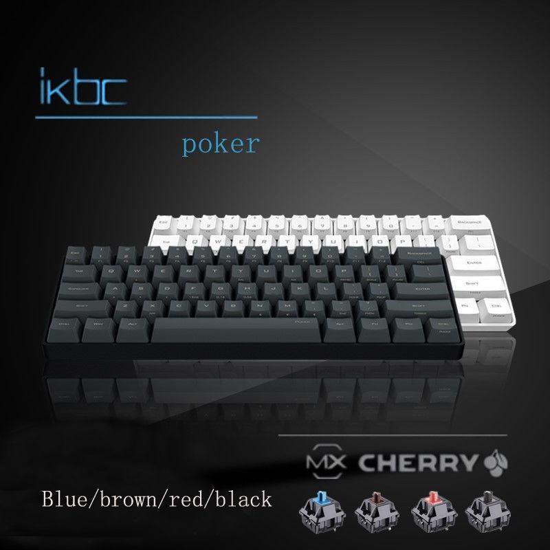[Nhập ELCLMAY hoàn 30K xu đơn từ 200K][RẺ VÔ ĐỊCH] Bàn phím cơ 60% IKBC Poker Pro giá rẻ nhất Giá chỉ 1.348.000₫