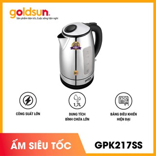 Ấm siêu tốc Goldsun GPK217SS - 1.7L