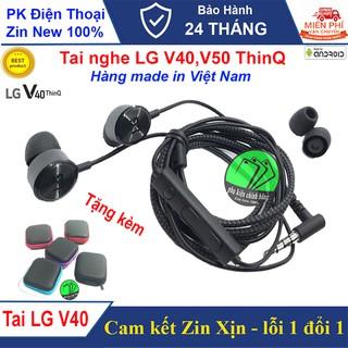 Tai nghe LG V40, V50 Chính hãng, Tặng kèm Hộp đựng - Hàng Công ty Xịn thumbnail