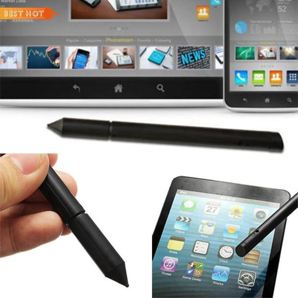 2 in1 Touch Screen LCD Pen Stylus Display For iPhone iPad Samsung Tablet