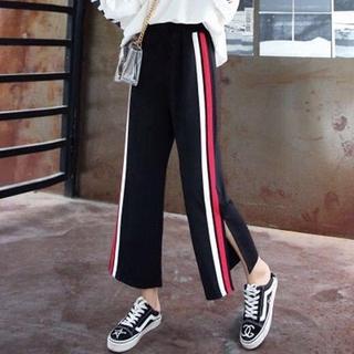 quần ống rộng Lưng Cao Phong Cách Nhật Bản Thời Trang Xuân Hè Cho Nữ