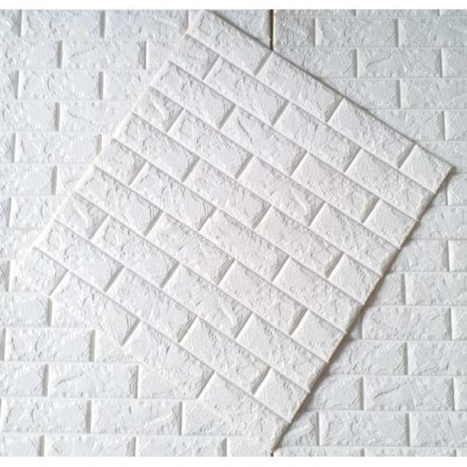 Xốp Dán Tường Giả Gạch 3D Khổ Lớn 70x77cm Đủ Màu