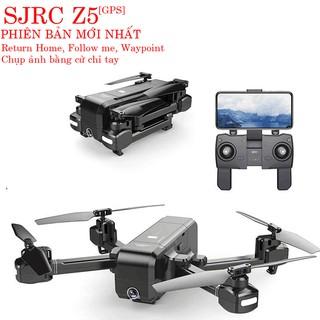Flycam SJRC Z5 GPS Camera 1080P/25fps Xoay Góc 90 Bay 600m