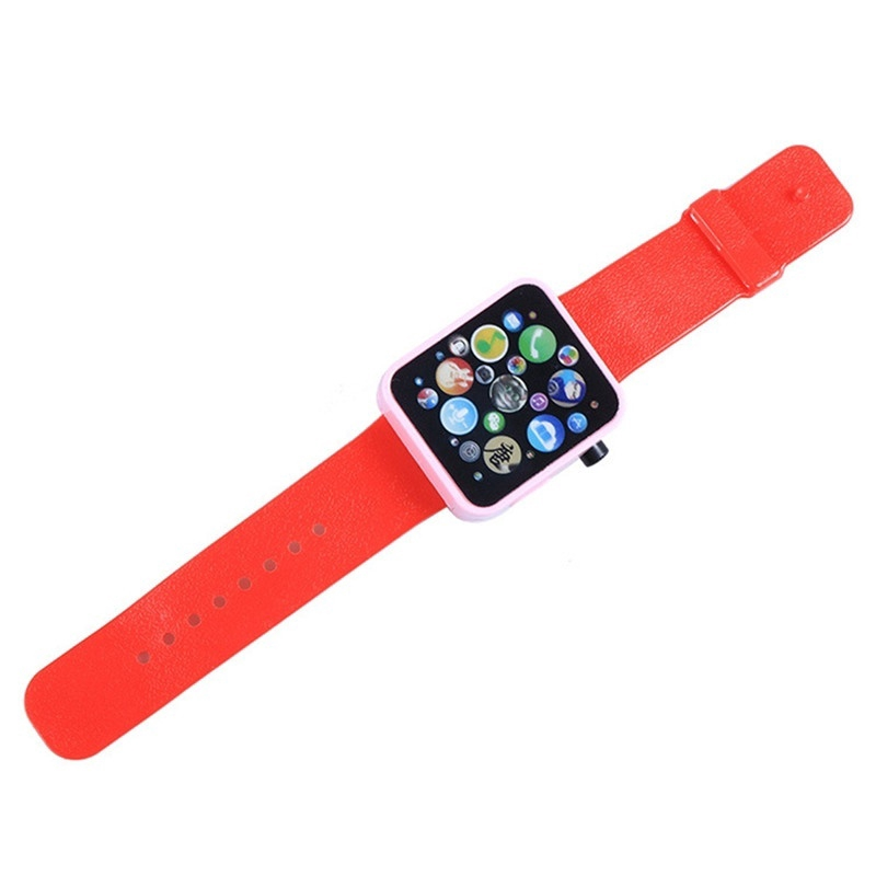 Children Multi-function Toy Watch Touch Screen Smartwatch Wristwatch for Early Education