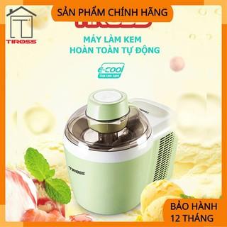 [Tiross – Việt Nam] Máy làm kem tươi gia đình Tiross TS9090,Sản Phẩm Chính Hãng, Bảo Hành 12 Tháng