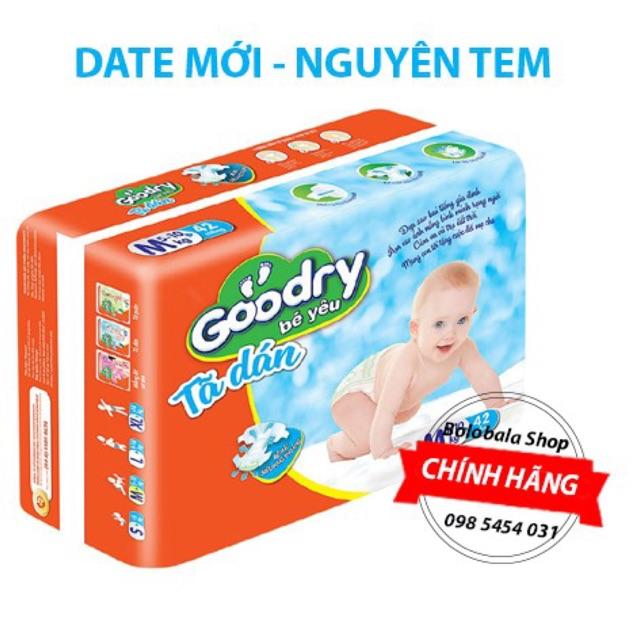 Tã dán Goodry S46/M42/L38/XL34
