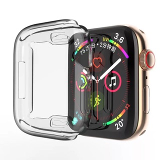 Bao Silicon Bảo Vệ Apple Watch S1,2,3 và S4 Trong Suốt thumbnail