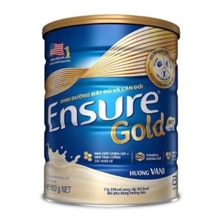 Sữa ensure gold hương vani 850g