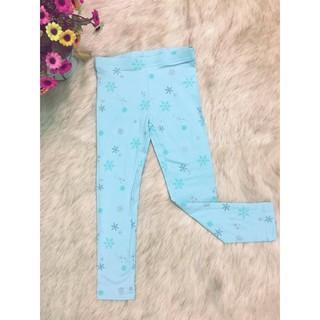 Quần legging Carter's màu xanh cho bé gái