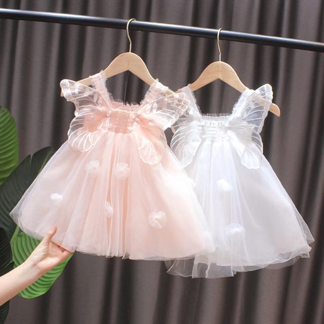 Váy cánh bướm cho bé gái