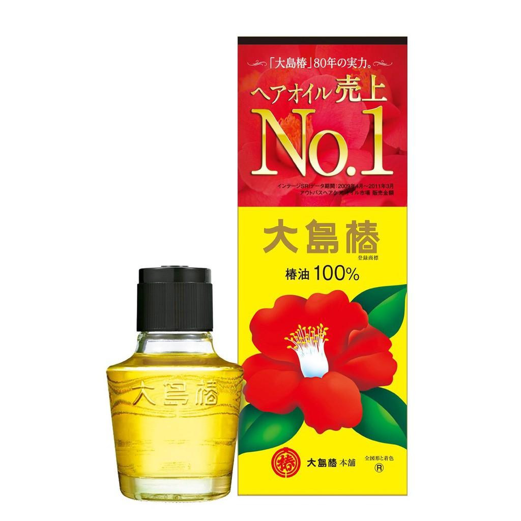 Tinh dầu hoa trà đỏ Oshima Tsubaki Nhật Bản 60ml