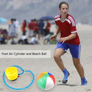 ★Lp★Colorful PVC Inflatable Ball Kids Outdoor Summer Beach Game Ball Play Toys