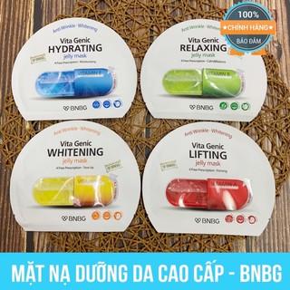 Mặt Nạ Viên Thuốc BNBG Vita Genic ❤️ Mặt Nạ Vitamin đủ 4 màu ❤️ Cam kết chính hãng - 20ml
