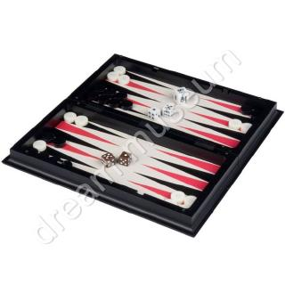 Smart Tactics 3 in 1 Travel Magnetic Chess, Checkers, Backgammon- 9.75`