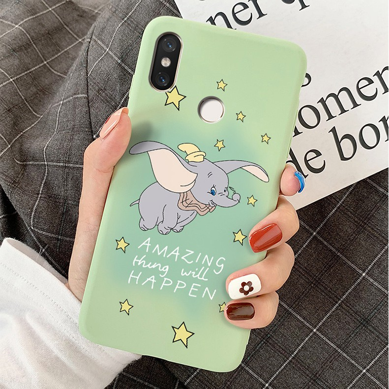 [pretect it]Red rice 7 following NOTE7 cases pro silicone soft shell NOTE5 5 plus cute cartoon millet redmi dumbo 6 you
