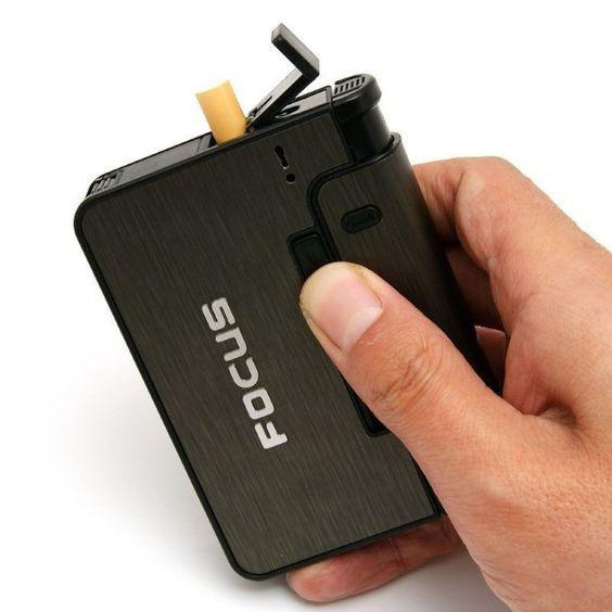 Hộp đựng thuốc hút kiêm bật lửa khò, hộp quẹt đa năng Focus - 15178217 , 2240185972 , 322_2240185972 , 64000 , Hop-dung-thuoc-hut-kiem-bat-lua-kho-hop-quet-da-nang-Focus-322_2240185972 , shopee.vn , Hộp đựng thuốc hút kiêm bật lửa khò, hộp quẹt đa năng Focus