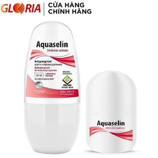 Lăn Khử Mùi Aquaselin Intensive Women Dành Cho Nữ Loại Mạnh Mồ Hôi Nhiều 20ml Và 50ml