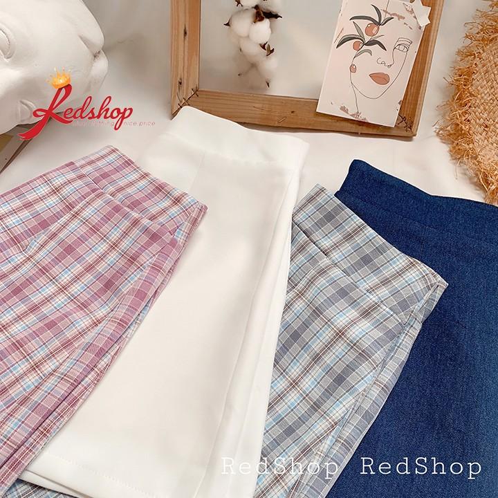 Chân váy chữ A lót 2 lớp (lot soc) CVA27972 Redshop Offical Store