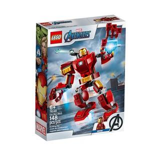 Lego 76140 Iron Man Mech_ NGƯỜI SẮT( 148 chi tiết)