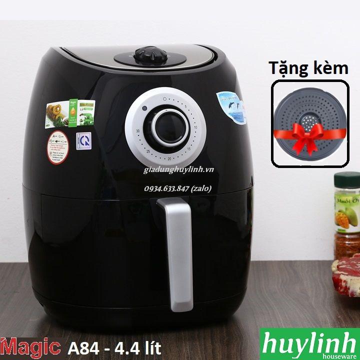 Nồi chiên không dầu Magic Korea A84 - 4.4 lít - Màu Đen