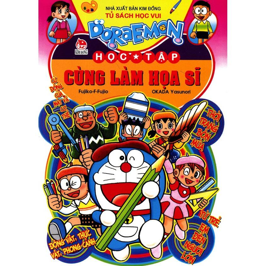 Sách - Doraemon học tập - Cùng làm họa sĩ - 3600550 , 1261329837 , 322_1261329837 , 24000 , Sach-Doraemon-hoc-tap-Cung-lam-hoa-si-322_1261329837 , shopee.vn , Sách - Doraemon học tập - Cùng làm họa sĩ