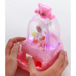 Máy gắp kẹo, gắp bóng mini cho trẻ em thỏa sức trải nghiệm game gắp thú như ở siêu thị nhé