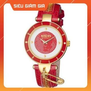 [New 2021] Đồng hồ nữ Versus SCK07 0016 đỏ, dây khóa Full Box Hàng Authentic thumbnail