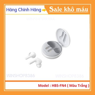 Tai nghe không dây LG Tone Free HBS-FN4 Màu Trắng - 100% Hàng Chính Hãng