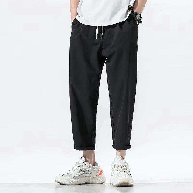 2020 Men's Black Casual Trousers pant