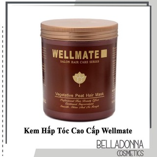 Kem Hấp Tóc Cao Cấp Wellmate Salon Hair Care Series dành cho tóc hư tổn 500ml thumbnail