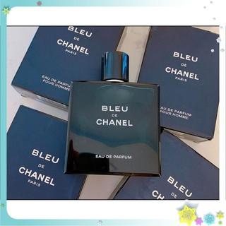 Nước hoa nam bleu 100ml nồng độ EDP hương thơm nam tính nắp nam châm