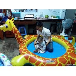 Bể bơi Intex 57434 hình hươu cao cổ Abbott